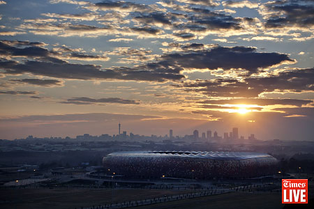 Soccer City Sunrise